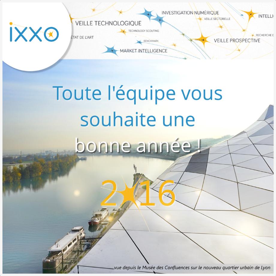 Voeux IXXO 2016